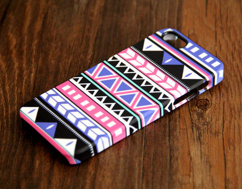 Ethnic Aztec Geometric iPhone 6 Plus 6 5S 5C 5 4 Dual Layer Durable Tough Case 103 - Acyc - 1