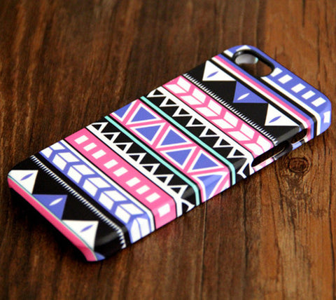 Ethnic Aztec Geometric iPhone 6s Plus 6 5S 5C 5 4 Dual Layer Durable Tough Case#103 - Acyc - 1