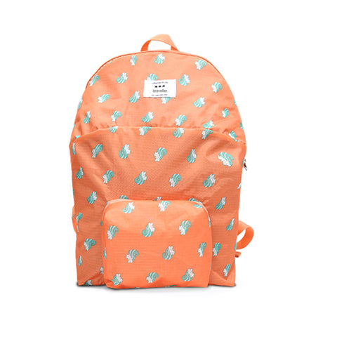Ac.y.c Lightweight Cartoon Print Packable Backpack Bag for Woman Children Travel Outdoors Hiking Camping