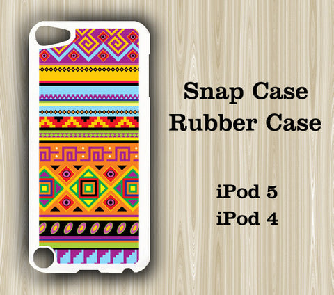 Retro Tribal Geometric iPod Touch 5 Case iPod Touch 4 Case - Acyc - 1