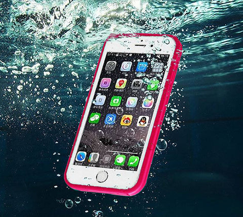Underwater Waterproof iPhone 6s/6/6 plus/6s plus/5S/5/SE Case Rose - Acyc - 1