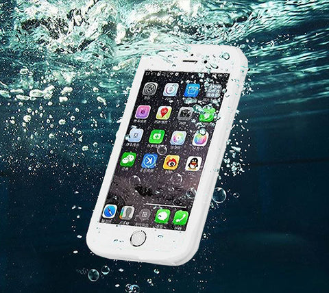 Underwater Waterproof iPhone 6s/6/6 plus/6s plus/5S/5/SE Case White - Acyc - 1