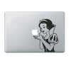 "Black Snow White Carton DIY Macbook Laptop decal sticker skin for Retina Pro Air 13"" - Acyc"