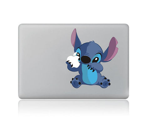 "Stitch Carton DIY Macbook Laptop decal sticker skin for Retina Pro Air 13"" - Acyc - 2"