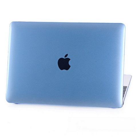 "Blue Rubberized Matte Hard Case Cut out Cover for Macbook AIR  13"" PRO 13"" 15"" Retina 12"" 13"" 15"" - Acyc"
