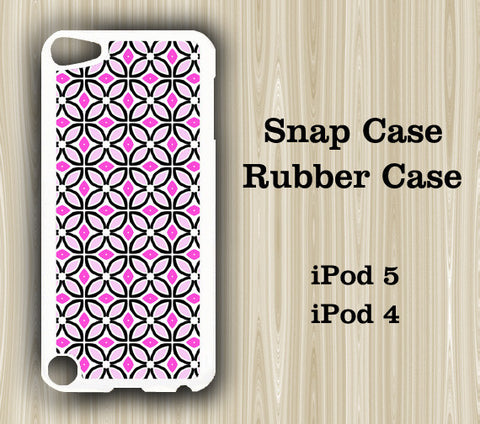 Seamless Pinky Floral iPod Touch 5 Case iPod Touch 4 Case - Acyc - 1