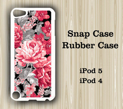Stylish Floral iPod Touch 5 Case iPod Touch 4 Case - Acyc - 1