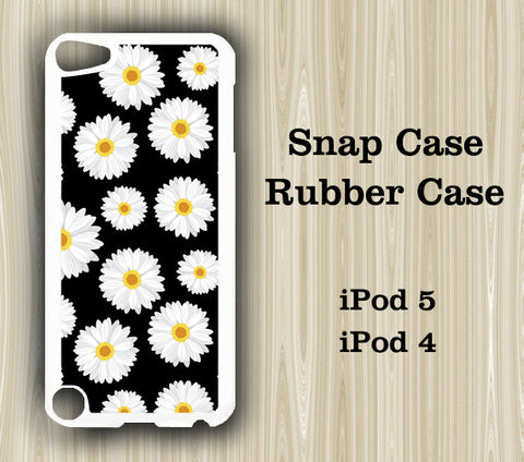 Sunflower Pattern iPod Touch 5 Case iPod Touch 4 Case - Acyc - 1