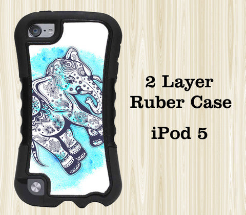 Teen Elephant iPod Touch 5 Case iPod Touch 4 Case - Acyc - 1