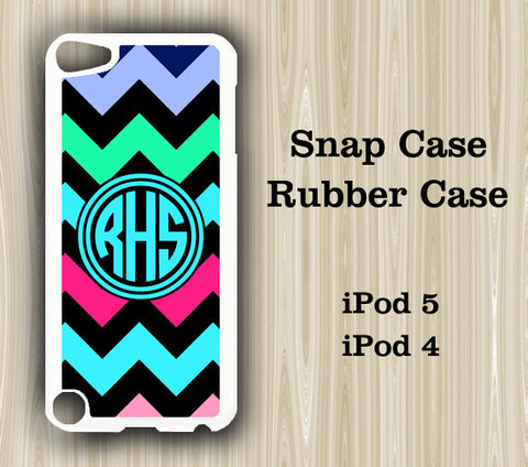 Teen Fashion Chevron Monogram iPod Touch 5 Case iPod Touch 4 Case - Acyc - 1