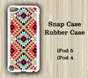 Tribal Geometric Style iPod Touch 5 Case iPod Touch 4 Case - Acyc - 2