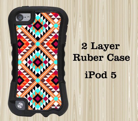 Tribal Geometric Style iPod Touch 5 Case iPod Touch 4 Case - Acyc - 1