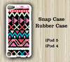 Tribal Geometric iPod Touch 5 Case iPod Touch 4 Case - Acyc - 1