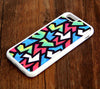 Abstract Zigzag Geometric iPhone 6 Plus 6 5S 5 5C 4S 4S 4 Rubber Case 320 - Acyc - 1