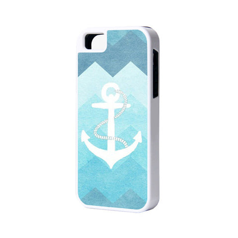 Blue Anchor iPhone 6 Plus 6 5S 5 5C 4 Rubber Case - Acyc - 1