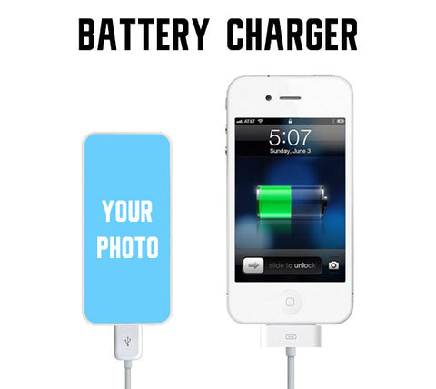 Creat Your Portable Battery Charger Custom Power Bank for iPhone and Samsung - Acyc - 1