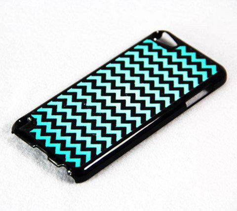 Chevron Print iPod Touch 5 Case and iPod Touch 4 Case Free Shipping - Acyc