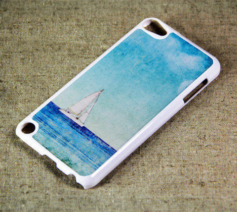 Sea Boat iPod Touch 5 Case and iPod Touch 4 Case Free Shipping - Acyc