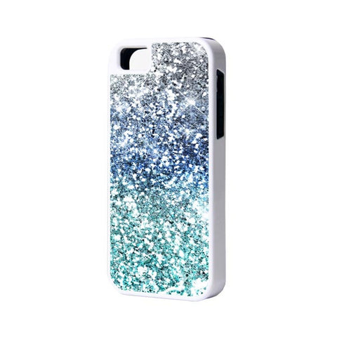 Glitter iPhone 6 Plus 6 5S 5 5C 4 Rubber Case - Acyc - 1