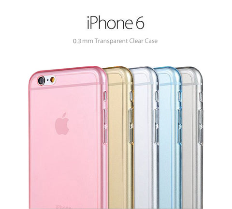 Pastel Color Soft Clear Case for iPhone 6 and iPhone 6 Plus - Acyc - 1