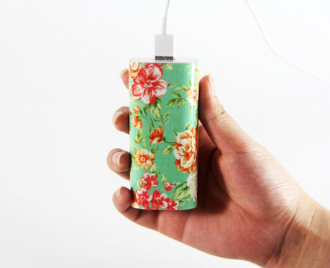 Classy Floral Portable Power Bank Charger for iPhone and Samsung - Acyc - 1