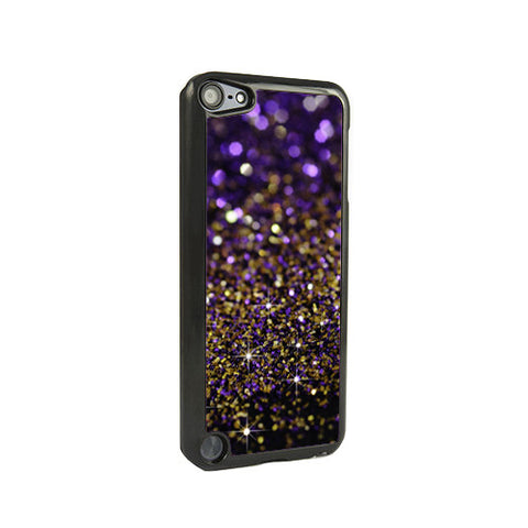 Purple Glitter iPod Touch 5 and iPod Touch 4 Case - Acyc