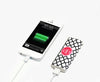 Quatrefoil Print Monogrammed Portable Power Bank Battery Charger for iPhone and Samsung - Acyc - 2