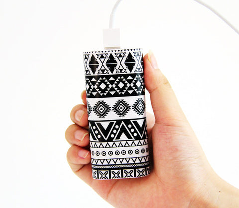 Retro Aztec Pattern Power Bank Charger for iPhone and Samsung - Acyc - 1