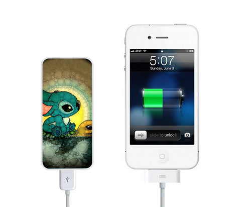 Swimming Stitch Turtles Power Bank External Battery Charger for iPhone and Samsung Andriod - Acyc - 1