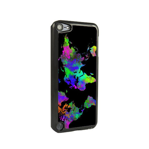 Abstract World Map iPod Touch 5 and iPod Touch 4 Case - Acyc