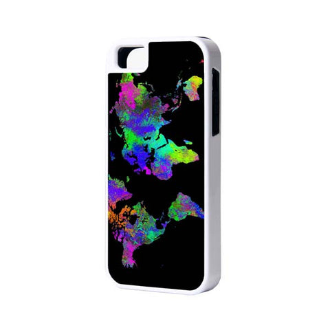 Fashion Color World Map Case for iPhone and Samsung - Acyc - 1