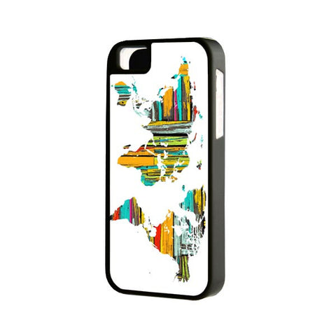 Wood Pattern World Map iPhone Cases and Samsung Cases - Acyc - 1