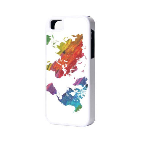 Retro World Map iPhone Cases and Samsung Cases - Acyc - 1