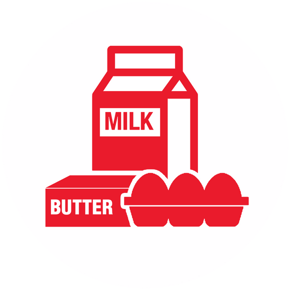 Milk, Egg, Butter & More