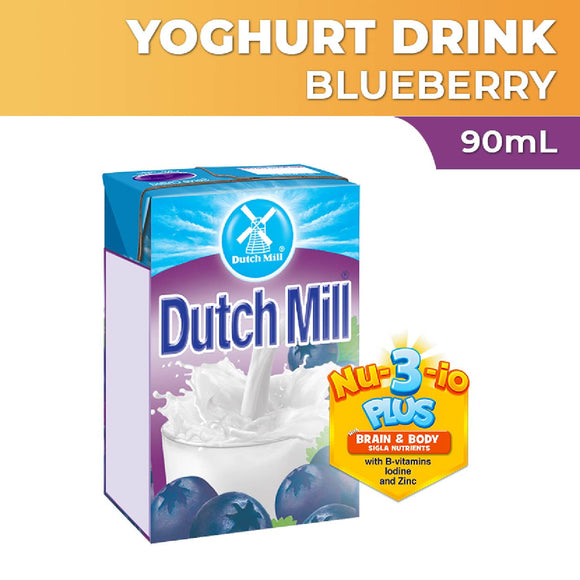 Dutch Mill Yoghurt Drink Blueberry 90ml