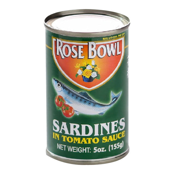 Rose Bowl Sardines in Tomato Sauce 155g