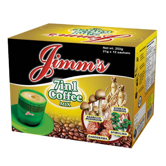 Jimms 7n1 Coffee 12x21g