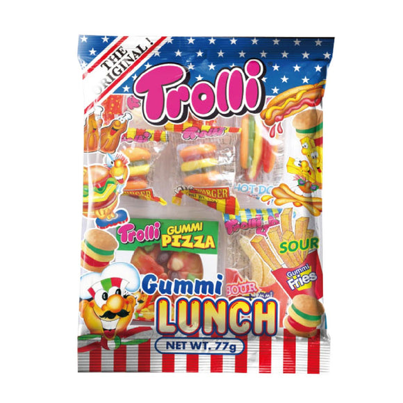 Trolli Gummi Lunch Gummy Candy 77g