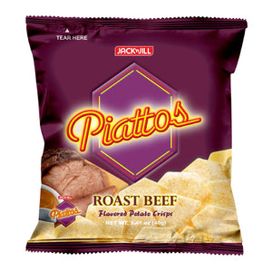 Piattos Potato Crisps Roast Beef 40g