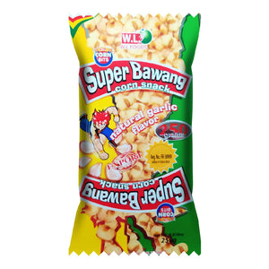 Super Bawang Corn Snack Natural Garlic 250g