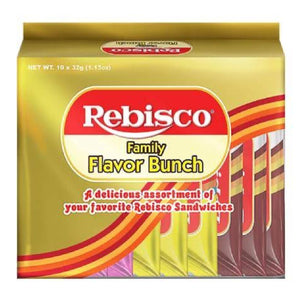 Rebisco Family Flavor Bunch Sandwich 10x32g