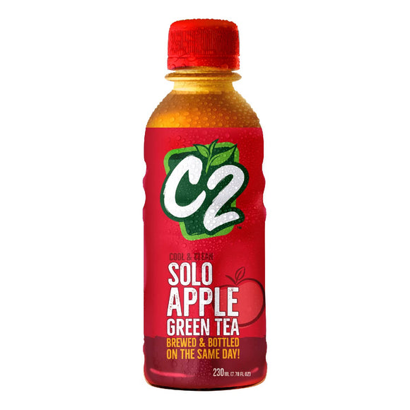 C2 Solo Green Tea Apple 230ml