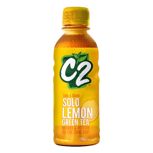 C2 Solo Green Tea Lemon 230ml