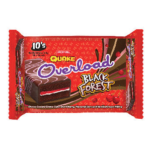 J&J Quake Overload Bar Black Forest 10x30g