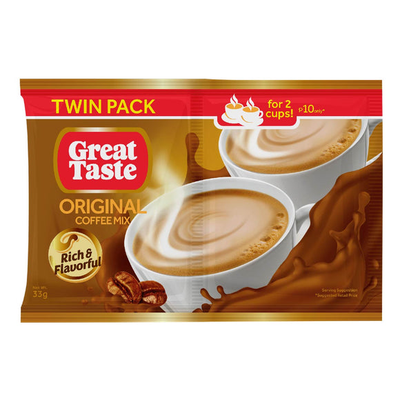 Great Taste 3in1 Original Coffee Mix TP 33g