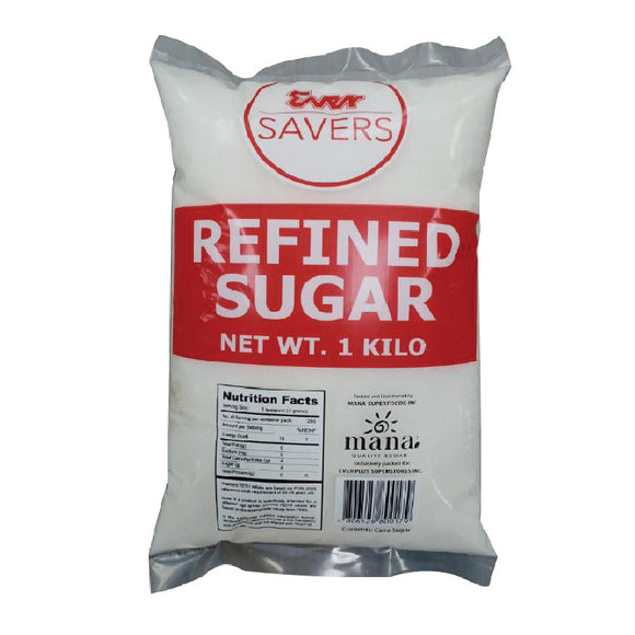 Ever Savers Refined Sugar 1kg