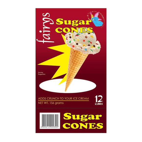 Fairys Sugar Cone 12s