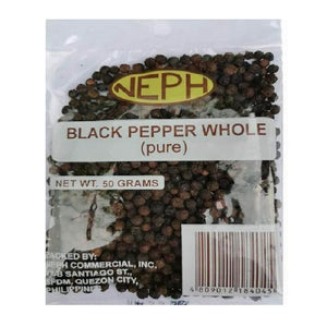 Neph Black Pepper Whole 50g