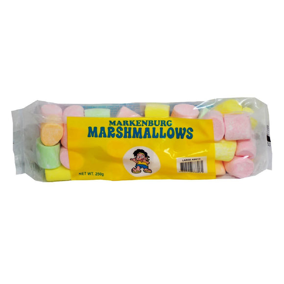Markenburg Large Assorted Marshmallows 250g