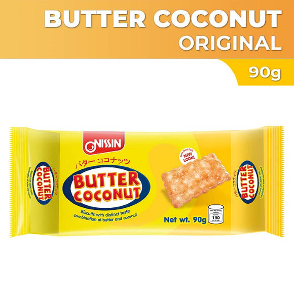 Nissin Butter Coconut Biscuits 90g